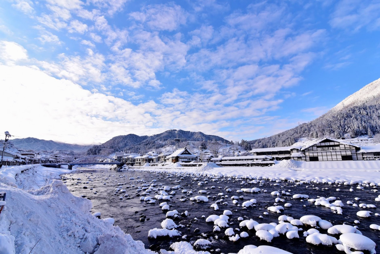 Takahara River in Kamioka