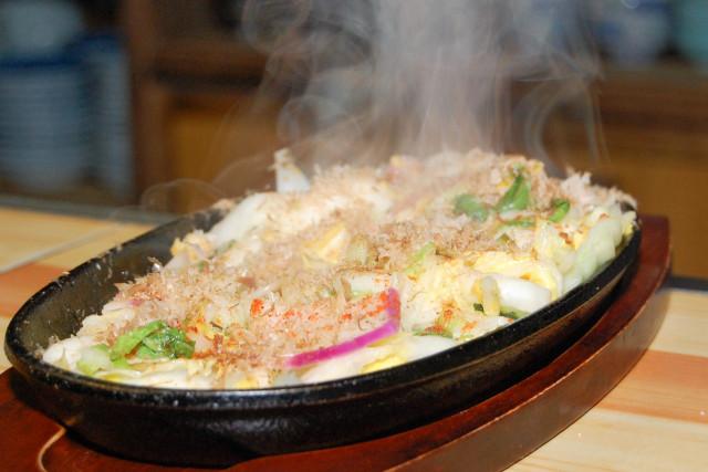 Tsukemono steak